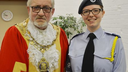 Can you help Ely air cadet Emily with her dream expedition in Sweden? Picture: MIKE ROUSE.