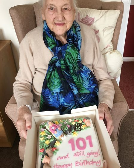 Former headteacher Phyllis Poole celebrated her momentous 101st birthday in style by having a party