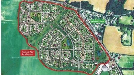 Kennett: map showing where the 500 homes will go