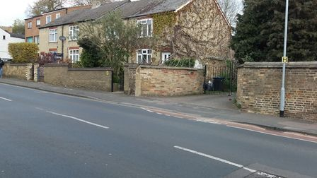 Back Hill Ely which has a limited and not satisfactory route through for cyclists says our correspon