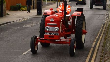 Tractor drivers took to the Fenland roads on Sunday for their own magical mystery tour for the annua