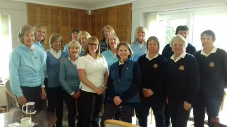 March and Saffron Walden Teams - Report from the March Golf Club. Picture: SUPPLIED