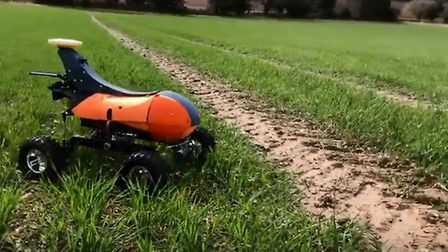 The Small Robot Company is taking part in the Cambridgeshire County Show on June 2. The company comp
