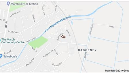 'Hazardous substance' found in Bittern Way, March. Police at scene and neighbours urged to stay indo