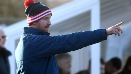 Boss Brady Stone has experienced the highs and lows of football with Ely City this season. Picture: