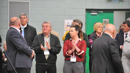 The Fenland local elections 2019 at the Hudson Leisure Centre in Wisbech on Friday, May 3. Picture: