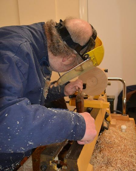 Ely Woodturners Guild welcomed the puiblic to their annual open day at Little Thetford Village Hall,