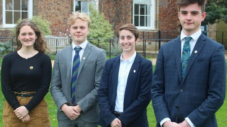 Four King's Ely Sixth Form students are celebrating completing their Gold Duke of Edinburgh's (DofE)