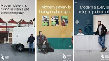 Modern slavery helpline: New campaign across Cambridgeshire launched in bid to bring to an end insta