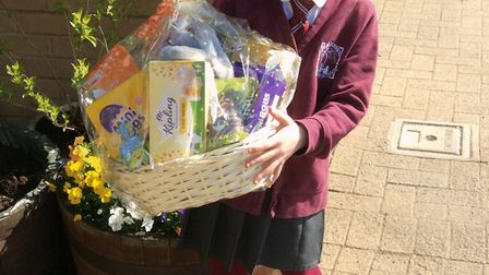 Elsie Sadler from Great Dunmow Primary School also received recognition for her design. Picture: CON