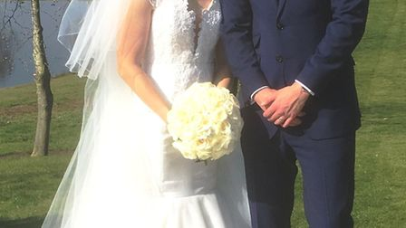 Stuart James Mills married Rachel Lesley Wright at St Peter's Church in March on Easter Saturday. Pi