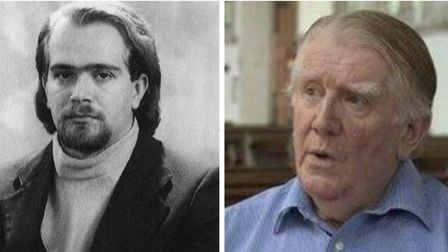 Patrick Kohler (right) and Corrado Rollero to be honoured at special recital at Ely cathedral. Pictu