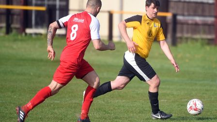 Action from March Town's win over Fakenham (pic Ian Carter)