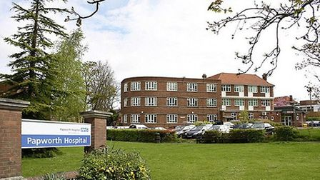 The Royal Papworth Hospital at Papworth Everard that that is closing. A new Royal Papworth is to ope