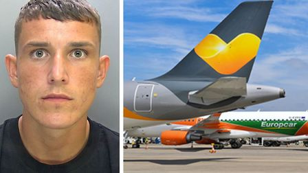 George Leech, 20, told police he was 'glad' to be caught as he attempted to board a flight at Luton