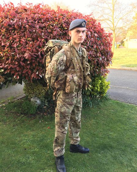 It was a week of adventure under the stars for Ely Air Cadet Flight Sergeant Rory Donoghue who had t