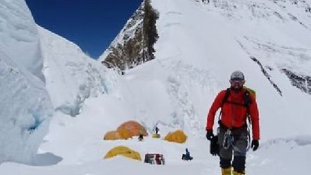 Everest summiteer Ricky Munday to give talk at fundraising dinner at Ely Cathedral. Picture: RICKY M
