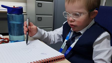 Move over Sir Richard Branson – when it comes to being an effective boss it's eight-year-old Zac Bru