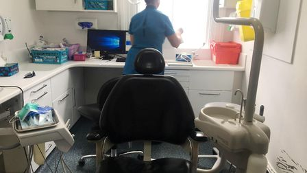 This Ely dental practice has been revamped - and is taking on NHS patients. Picture: CLARE BUTLER.