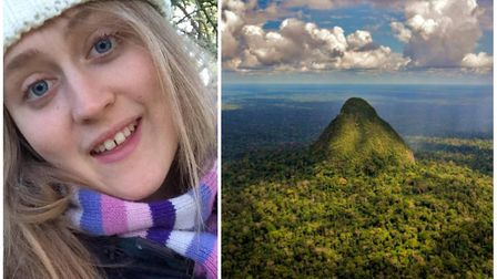 Becky Lockyer from Ely (pictured) aims to save the rainforest by raising £5,000 for the World Land T