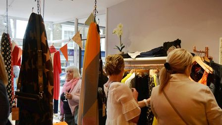 An independent clothes shop in Ely that boosts the latest in Scandinavian fashion has celebrated its