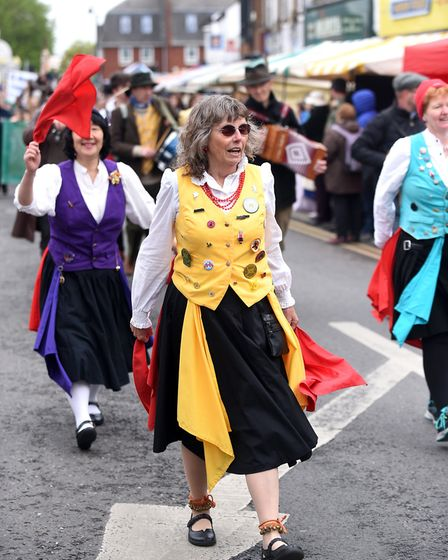 There was a great atmosphere at the annual St Georges Day fayre in March on Sunday. It is not in its