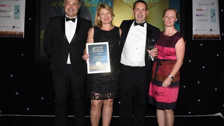 Ely Standard East Cambs Business Awards 2018Medium Business of the Year winner ST1 Group Ltd
