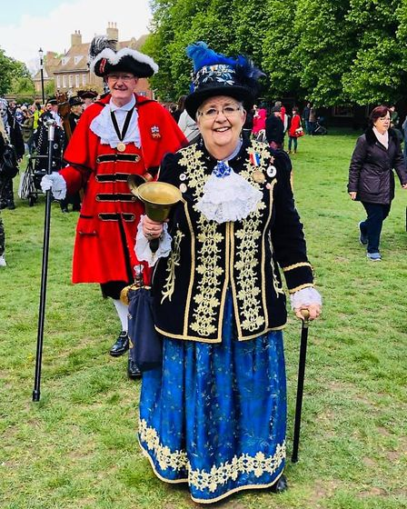 Town criers from across the county came to Ely for their annual competition organised by the city;s