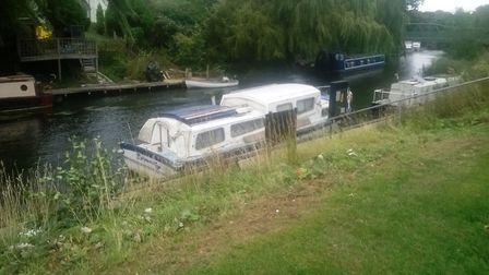An idyllic place to moor but not all boat owners who stay moored up in March are abiding by the 48 h