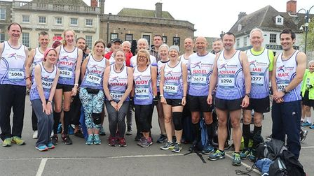 Grand effort by runners from across Fenland at GEAR 10K gives charities a cash boost. Members of the