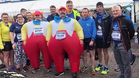 Grand effort by runners from across Fenland at GEAR 10K gives charities a cash boost. Teilo Pearce a