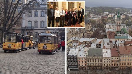 Snapshots of the Ely Hereward Rotary Clubs visit to Lviv in Ukraine. Picture(s): SUPPLIED