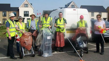 A voluntary group which has helped keep its community clean and tidy for ten years has been recognis