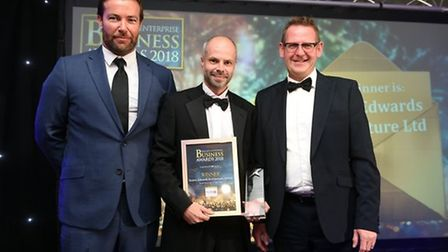 Fenland Business Awards 2018 winner of Small Business of the Year Swann Edwards Architecture Limited