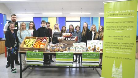 GCSE students at Witchford Village College get exam ready with healthy brekkie. Picture: JO GORDON.