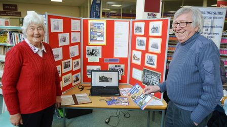 History experts gather at Ely Library for nostalgic look at the city. Picture: MIKE ROUSE.