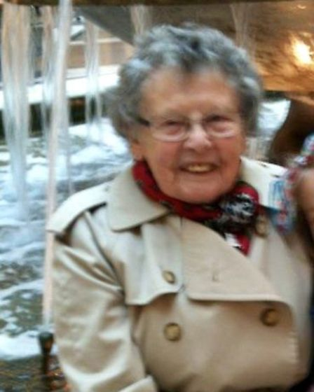 99-year-old Lillian Clark (pictured) died on Wednesday afternoon (May 15) after she was struck by a