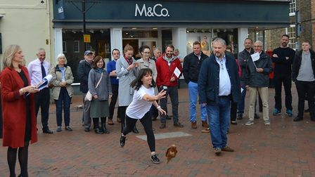 Eel Day 2019 - the day before has traditionally the time when the city businesses come out to play.