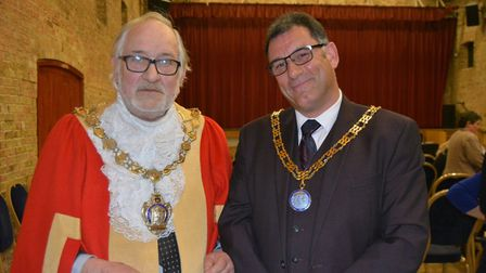Mike Rouse will serve as Mayor of Ely for second term. Picture: MIKE ROUSE