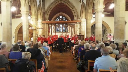 The concert which raised more than £1,100 for the life-saving Magpas charity at Chatteris Parish Chu