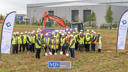 On Friday, 3rd May, Thorlabs Ltd held a sod cutting ceremony and reception to commemorate the ground