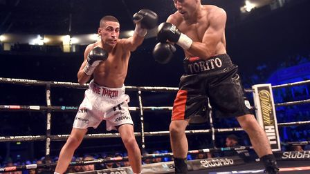 Jordan Gill lost his unbeaten record and WBA International title to Enrique Tinoco with a stoppage a