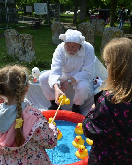 All creatures great and small took part in a special pet service at St Andrew's Church in Soham as p