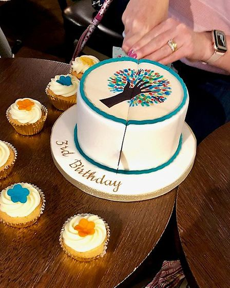 Chronic illness sufferers unite for support group third anniversary in Ely. Picture: MARIA STABLEFOR