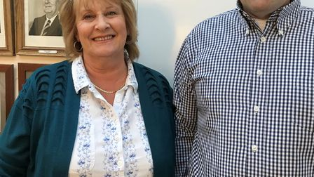 Councillor Linda Ashley has been elected as the new mayor of Chatteris. She will serve alongside her