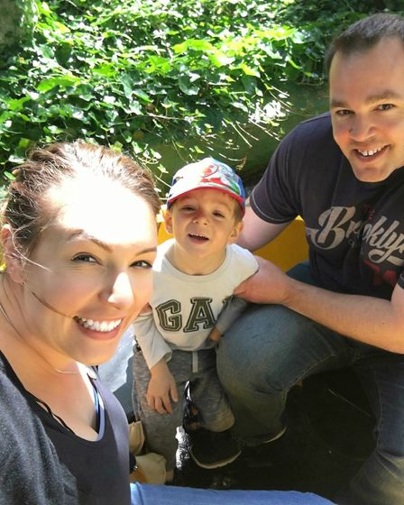 Rachael, Gabriel and Adam Squires. Picture: CONTRIBUTED