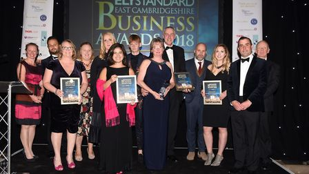 Ely Standard East Cambs Business Awards 2018 Small Business of the Year winner Gourmet Brownie Ltd w