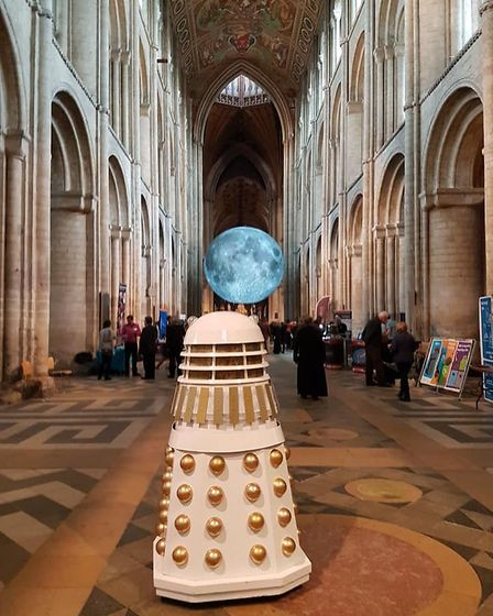 Ely Cathedral science festival: Some of the images from inside the cathedral as the science festival