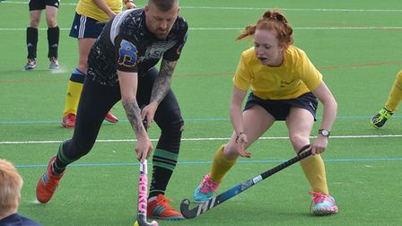 Ely City Hockey Club's annual tournament - this year with a 'Wild West' theme - raises £1,735. Team