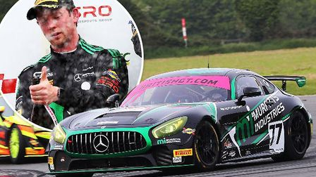 Mark Murfitt, a British GT driver from Ely was part of Fox Motorsports double podium finish at the c